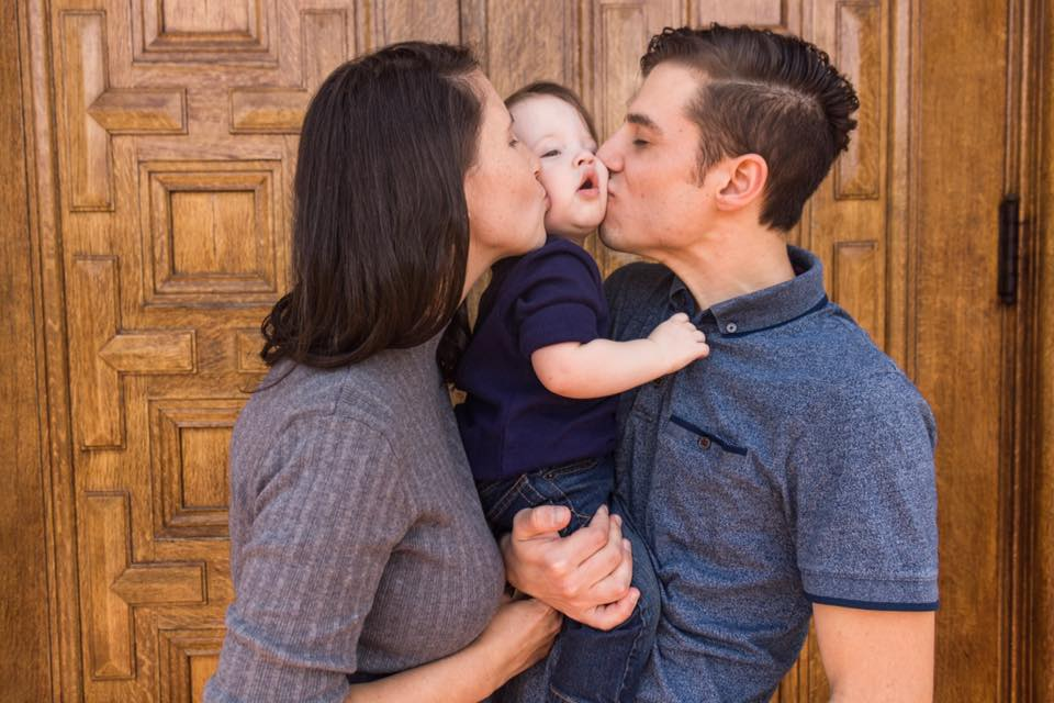 Family Photos and A GenderReveal