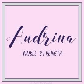 UniqueGirl-Audrina
