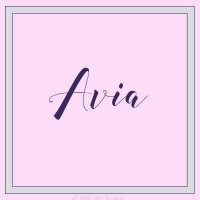 UniqueGirl-Avia