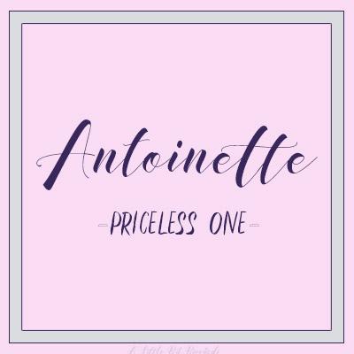 UniqueNames-Antoinette