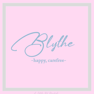 Unique-Girl-Blythe