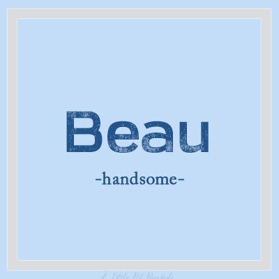 UniqueBName-Beau