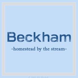 UniqueBName-Beckham