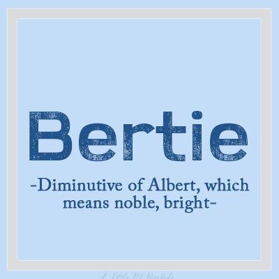 UniqueBName-Bertie