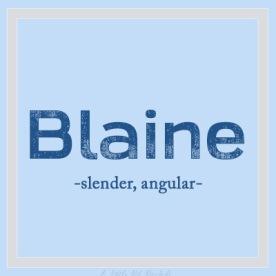 UniqueBName-Blaine