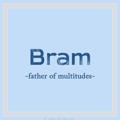 Uniquebnames-Bram
