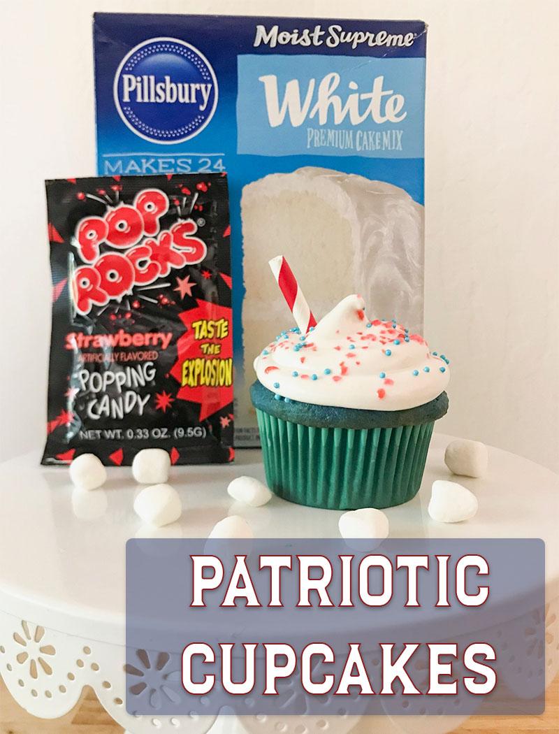Patriotic Cupcakes Recipe